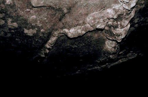 An image of Cave by Peter Peryer