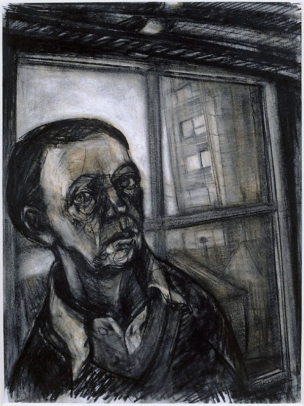 An image of Self portrait