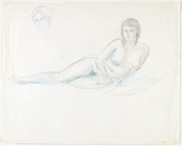 An image of Female nude and Head