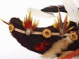 Alternate image of Kembena (bullock-horn wig) by