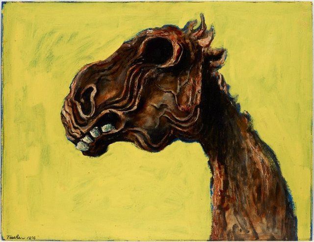 An image of Apocalyptic horse