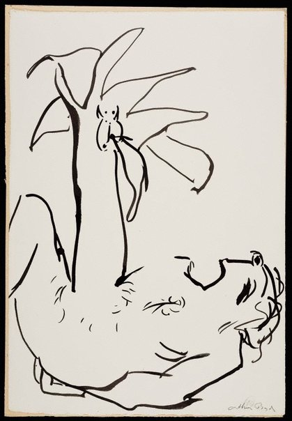 An image of (Illustration for 'Jonah' p.123) by Arthur Boyd