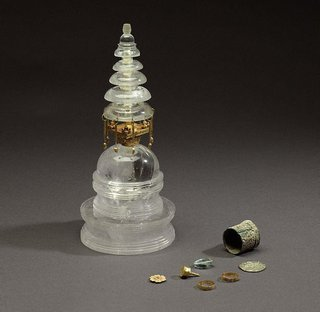 AGNSW collection Reliquary stupa 1st century-3rd century