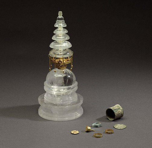 An image of Reliquary stupa by