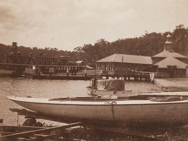 An image of Watson's and Mosman's Bay