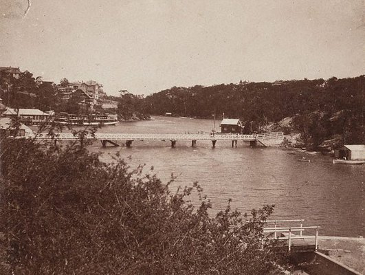 Alternate image of Watson's and Mosman's Bay by Harold Cazneaux