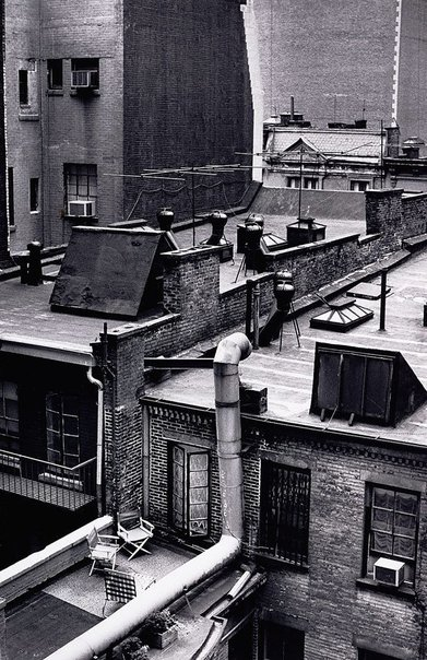 An image of View from Dorset Hotel room, New York by David Moore