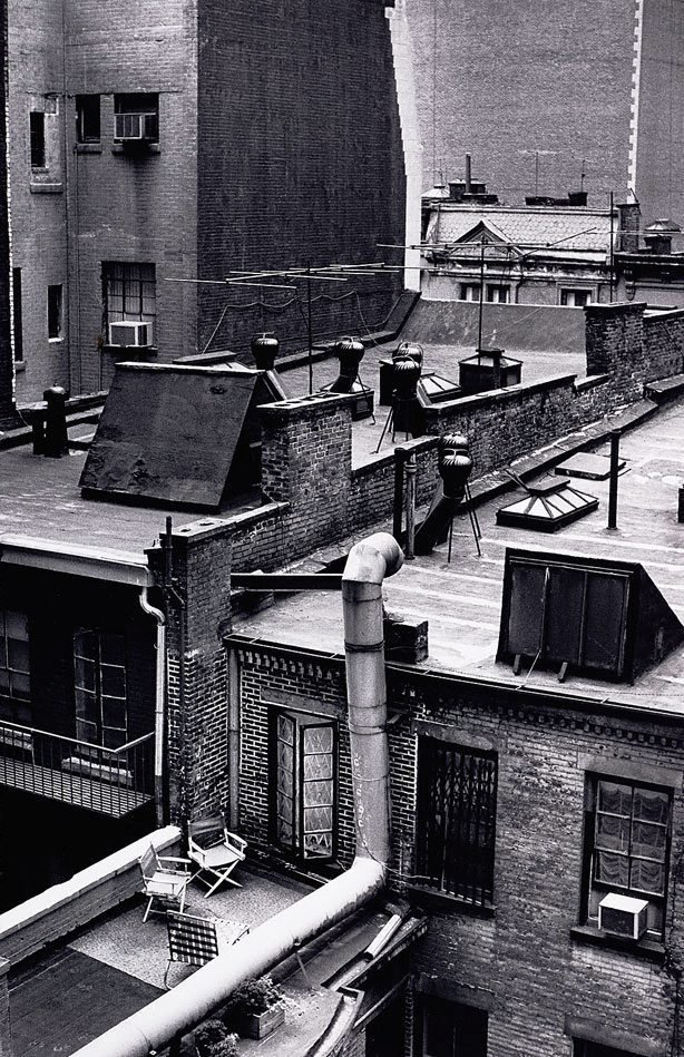 An image of View from Dorset Hotel room, New York
