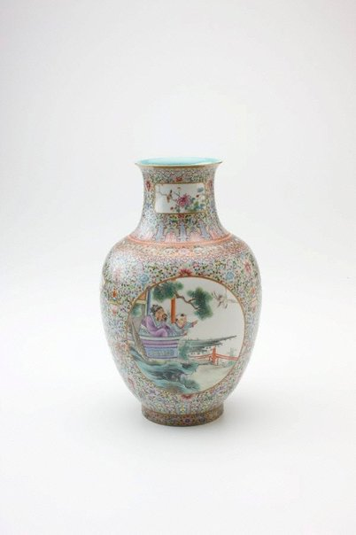 An image of Vase by Jingdezhen ware
