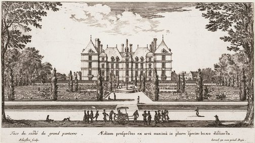 An image of Château of Liancourt by Israel Silvestre