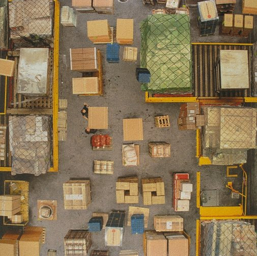 An image of brownwork #2 by Rosemary Laing