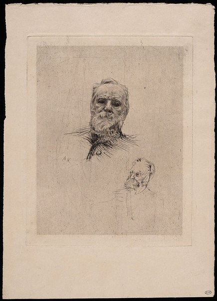 An image of Portrait of Victor Hugo by Auguste Rodin