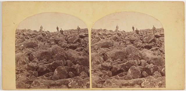 An image of The ploughed field on Mt Wellington