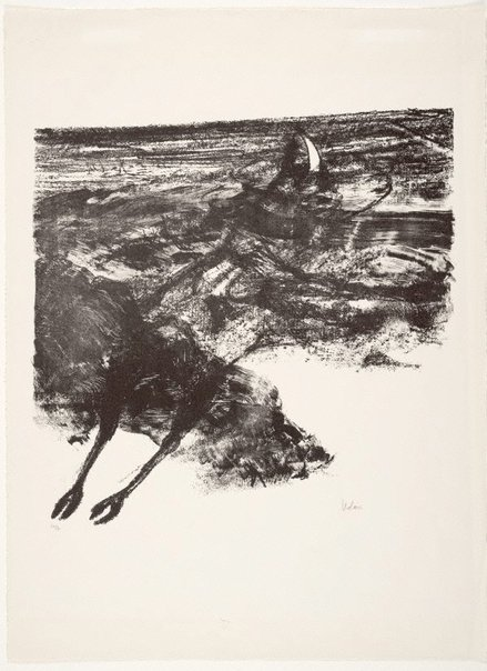 An image of Untitled (carcase) by Sidney Nolan