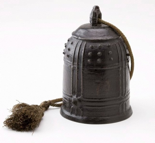 An image of Chinese temple bell