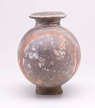 Alternate image of Flask with painted decoration by