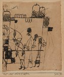 Alternate image of The three Orientals by Paul Klee