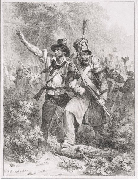 An image of Long live the ranks by Hippolyte Bellangé