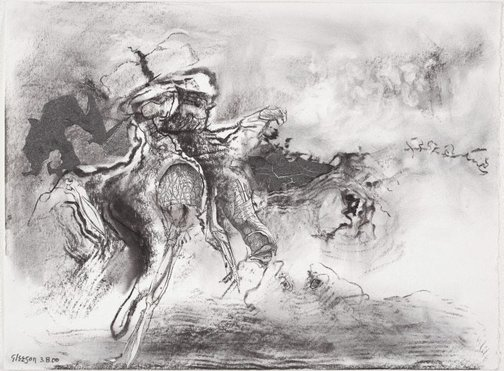 An image of Study for 'The home-coming of Agamemnon' by James Gleeson