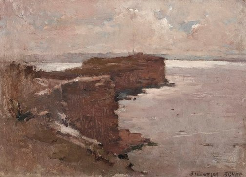 An image of South Head and Gap by J Llewelyn Jones
