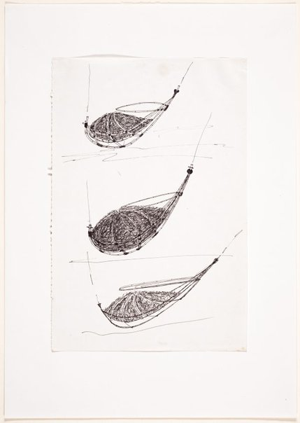 An image of (Three studies of a boat form) by Ross Mellick