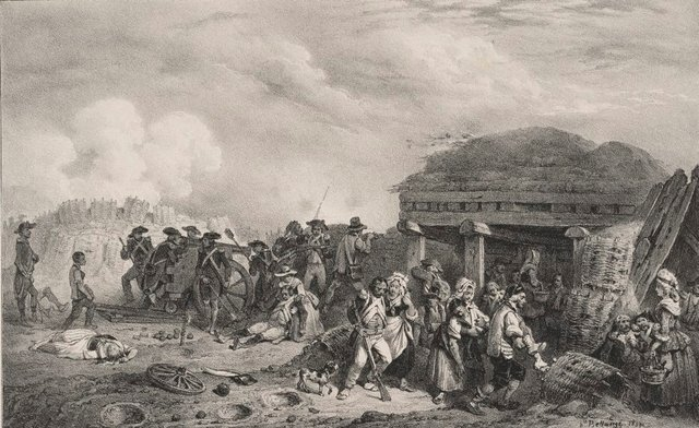 An image of The siege of Landrécies