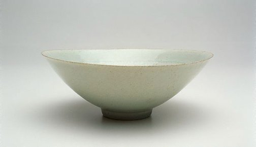 An image of Conical bowl by Jingdezhen ware