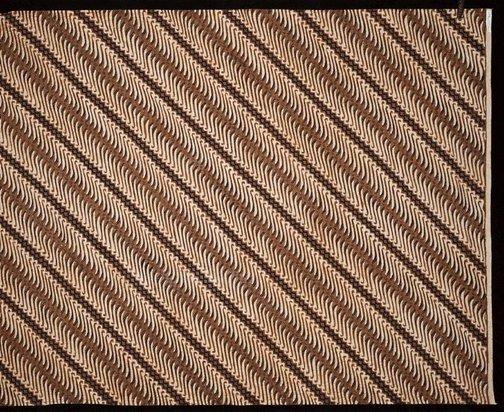 An image of Batik with perang design by