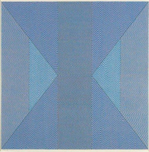 An image of Perceptual blue by Jan Riske