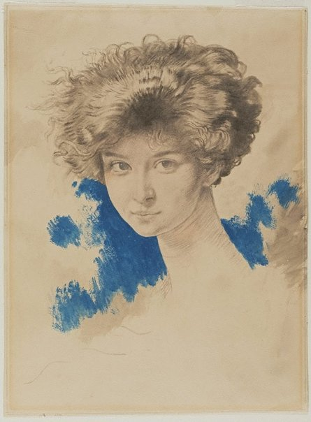 An image of Lady Evelyn Beauchamp by Sir William Orpen