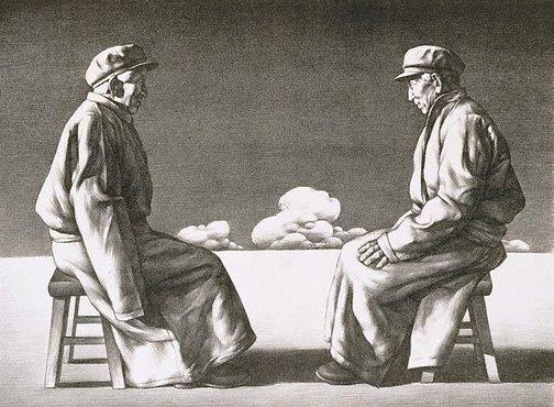 An image of Dialogue by Su Xinping