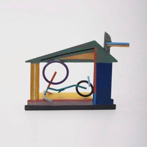 An image of No. 1079 by Robert Klippel, Painted by Robert Klippel and Rosemary Madigan