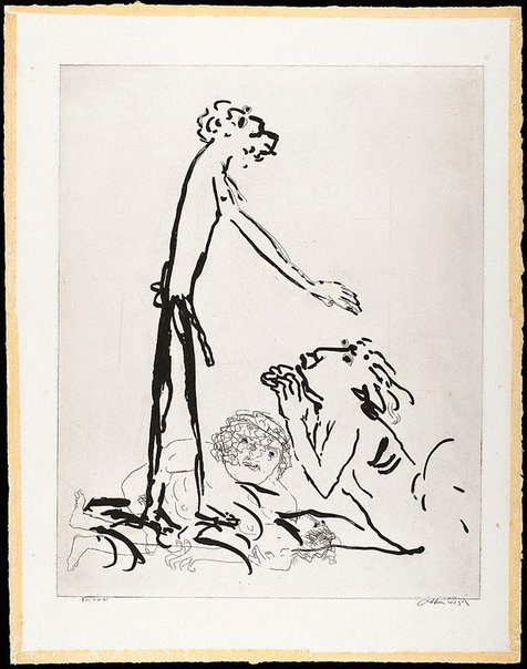 An image of (Illustration for 'Jonah' p.68) by Arthur Boyd