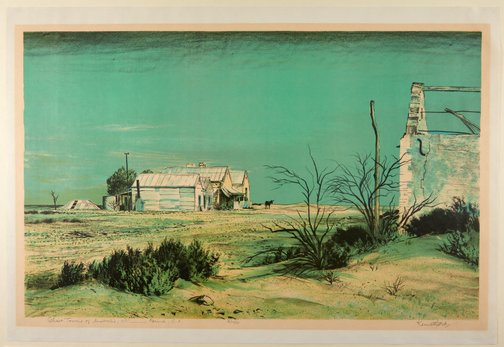 An image of 'Farina, South Australia' - Ghost towns of Australia no 1 by Kenneth Jack