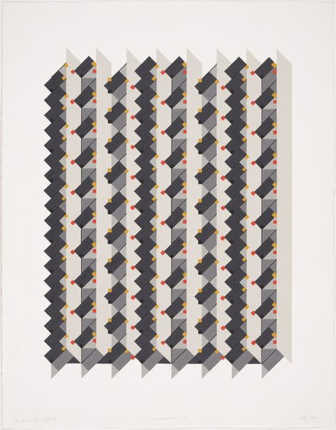 An image of Harmony of numbers: (1,2,3) Subtractive x 80 by Andrew Christofides