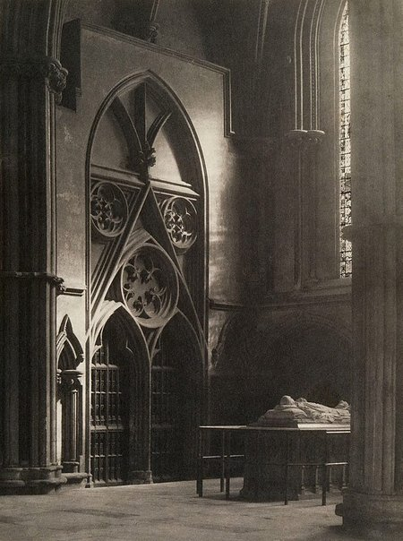 An image of In sure and certain hope: York Minster by Frederick H Evans
