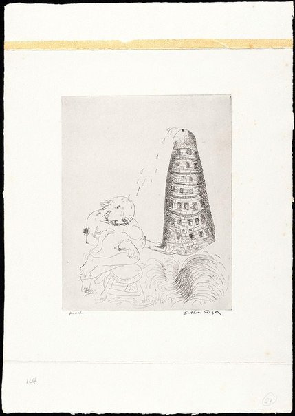 An image of (Illustration for 'Jonah' p.71) by Arthur Boyd