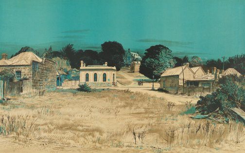 An image of 'Clunes, Victoria' - Ghost towns of Australia no 2 by Kenneth Jack