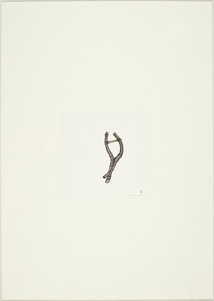 An image of (Forked tree form, two parts bound) by Ross Mellick
