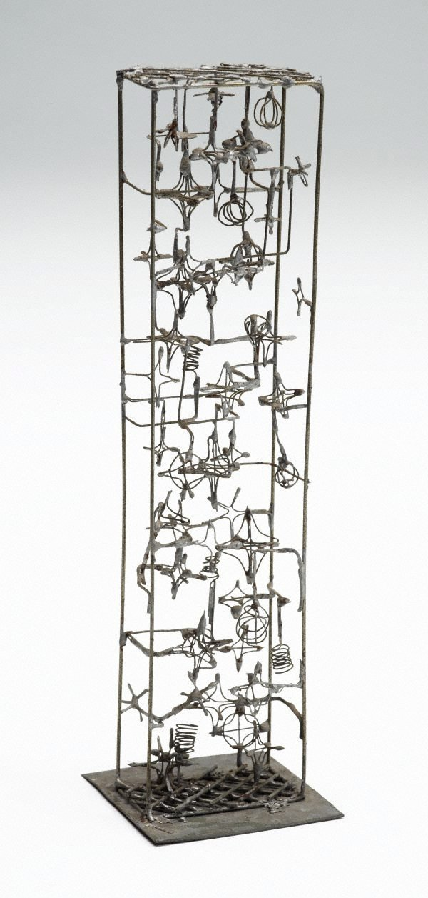 An image of Untitled ('Wire tower' maquette)