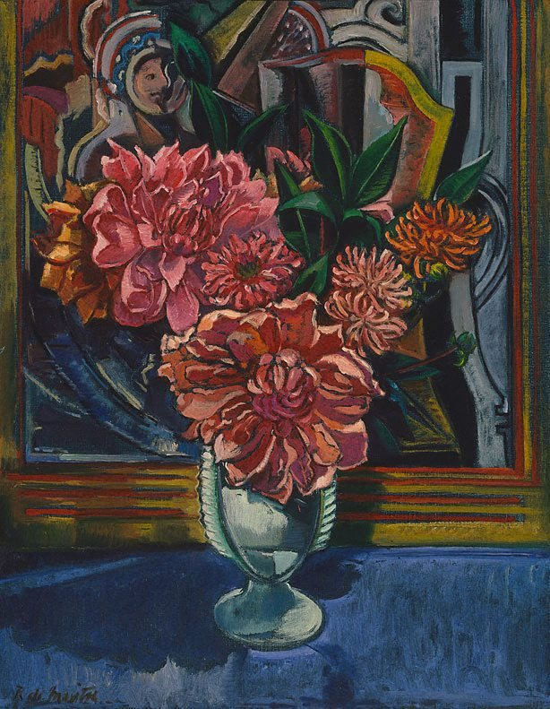 An image of Still life (pink dahlias)