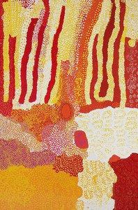 Marpa, (2001) by Lucy Yukenbarri Napanangka