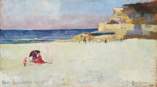 An image of Bronte, Queen's Birthday by Charles Conder