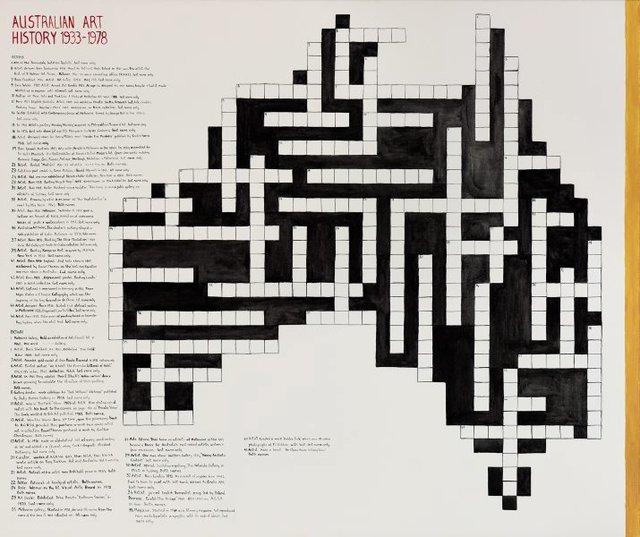 An image of Australian art history 1933-1978