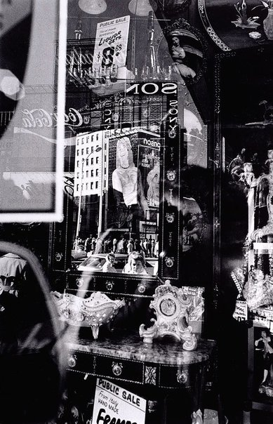 An image of Times Square reflections, New York by David Moore