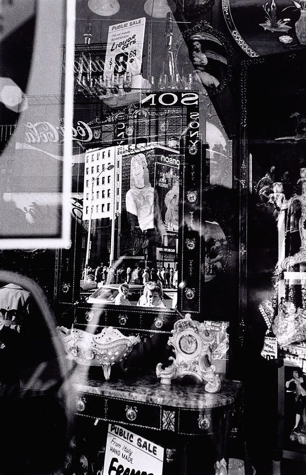 An image of Times Square reflections, New York