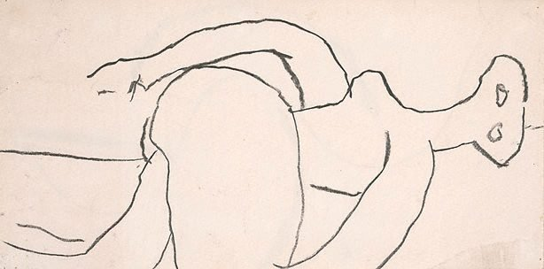 An image of Reclining figure