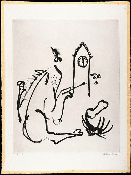 An image of (Illustration for 'Jonah' p.74) by Arthur Boyd