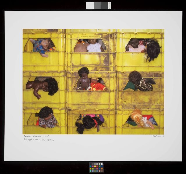Arrears windows, (2009) by Destiny Deacon