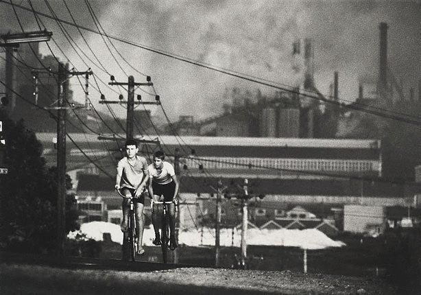 An image of Newcastle steelworks